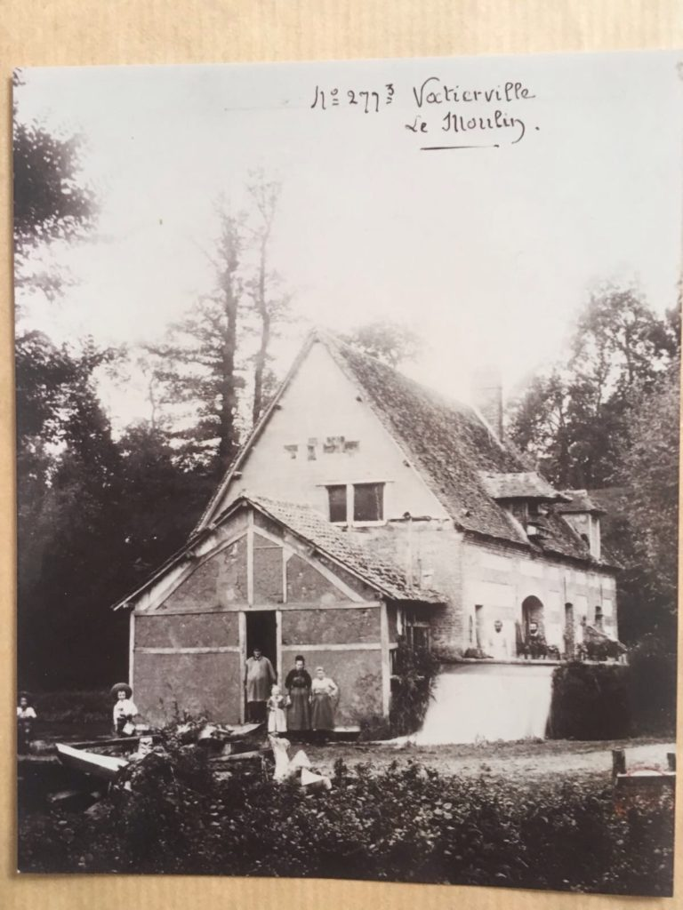 Le Moulin de Vatierville fin 19ème